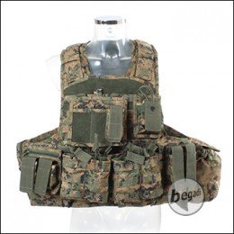 """Invader Gear Plate Carrier """"COMBO"""" - Digtal Woodland"""