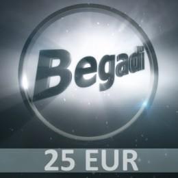 Coupon 25 EUR