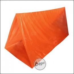 Fibega Survivaltent, tube-shape, orange