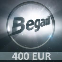 Coupon 400 EUR