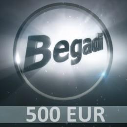 Coupon 500 EUR