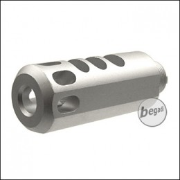 Begadi AIPSC Triple Chamber Compensator - silver