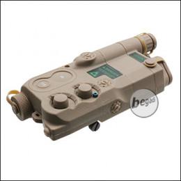 Begadi PEQ 16 Style Batteriebox mit Verlängerung -TAN-