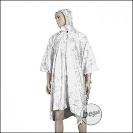 BE-X FronTier One Poncho - Snow Camouflage Pattern
