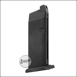 Magazin für WE GForce 19 GBB Serie, schwarz (mit großer Bodenplatte)