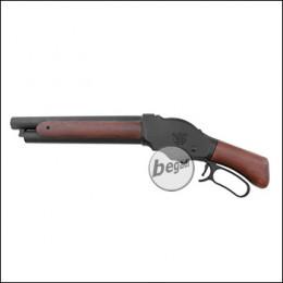 "S&T M1887 ""Wild Card"" Shell Ejection NBB Shotgun, Echtholz Version -kurz- (frei ab 18 J.)"