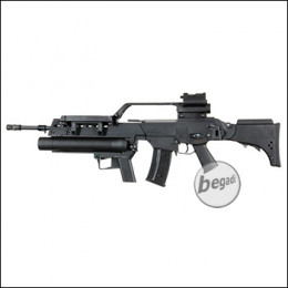 S&T ST316 inkl. Grenade Launcher S-AEG mit Begadi CORE EFCS / Mosfet (frei ab 18 J.)