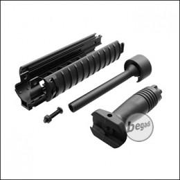 Begadi MP5 Tactical Aluminum Hand Guard Set with Front Grip