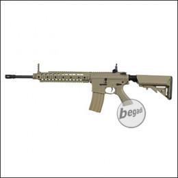 """Begadi M4 ECO """"Mark 2 ABS"""" S-AEG mit Begadi CORE EFCS / Mosfet -TAN- (frei ab 18 J.)"""