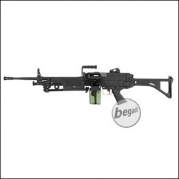 A&K M249 MK1 Upgrade LMG AEG, Nylon Version < 0,5 J.