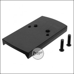 Begadi CNC Alu Red Dot Mounting Plate for Cyma CM.127 AEPs