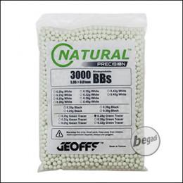 3.000 GEOFFS Natural Precision Bio -TRACER- BBs 6mm 0,28g