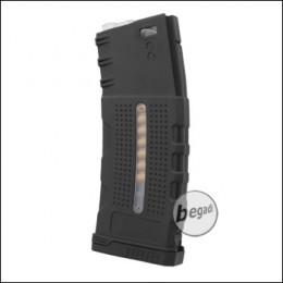 "Battleaxe M4 / M16 Polymer MidCap Magazine (150 Bbs) ""LCR Style"" -black-"