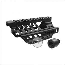 Battleaxe P90 Rail Handguard -black-
