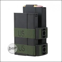 Battleaxe M14 Electric Dual Highcap Magazine (750 BBs) -black-
