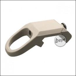 Begadi Low Profile Sling Adapter mit Weaver Montage -TAN-