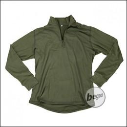"BE-X FronTier One Baselayer Shirt ""Bamboo"", long, OD Green"