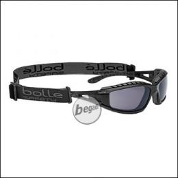 "Bollé ""Tracker II"" safety glasses, MilSpec certified BSSI version, smoke (PSSTRAI443)"