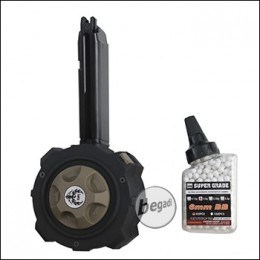 HFC HighCap Drum Magazin für G17 / G19 / G-Force / KP-13 GBB Modelle [HD-001]