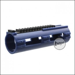 """RED DRAGON """"Cutted"""" Piston with 14 Steel Teeth - Blue"""
