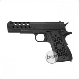 "WE M1911 ""HEX CUT"" Gen. 2 GBB -black- (only 18yrs.+)"