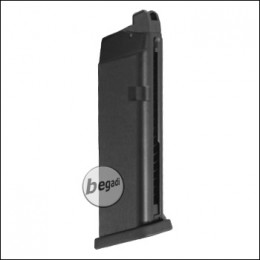 Magazine for WE G17 series, 25 BBs, short -CO2 version-
