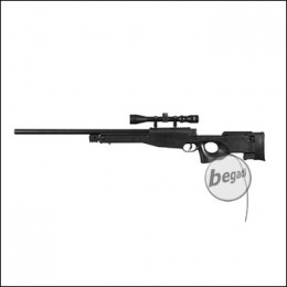 WELL MB01B -MANCRAFT HPA- Sniper incl. scope -black- (only 18yrs.+)