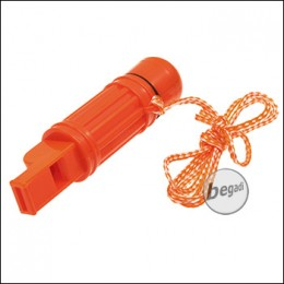 Fibega Survivaltool with Compass and Whistle