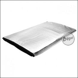 FIBEGA Insulated Groundsheet, 220g, 145x185cm, silver