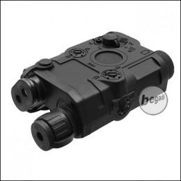 Battleaxe Batterybox, small, PEQ15 Style - black