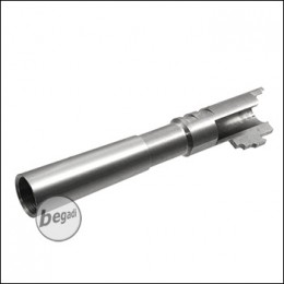 Begadi AIPSC Compensator Ready Outerbarrel for Marui HiCapa - silver