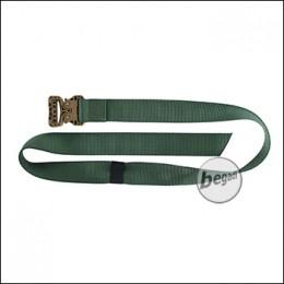 "BE-X FronTier One BDU Belt ""Ultralight & Ultrarugged"" - od green"