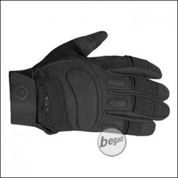 """Pentagon Tactical Glove """"KARIA"""" with leather reenforcement, Black"""