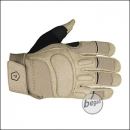 """Pentagon Tactical Glove """"KARIA"""" with leather reenforcement, Tan"""