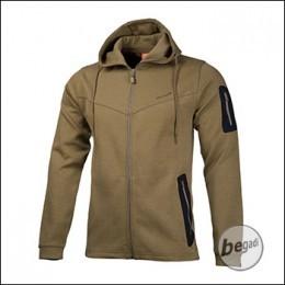 """PENTAGON Tactical Sweater / Jacket """"Pentathlon"""", tan"""