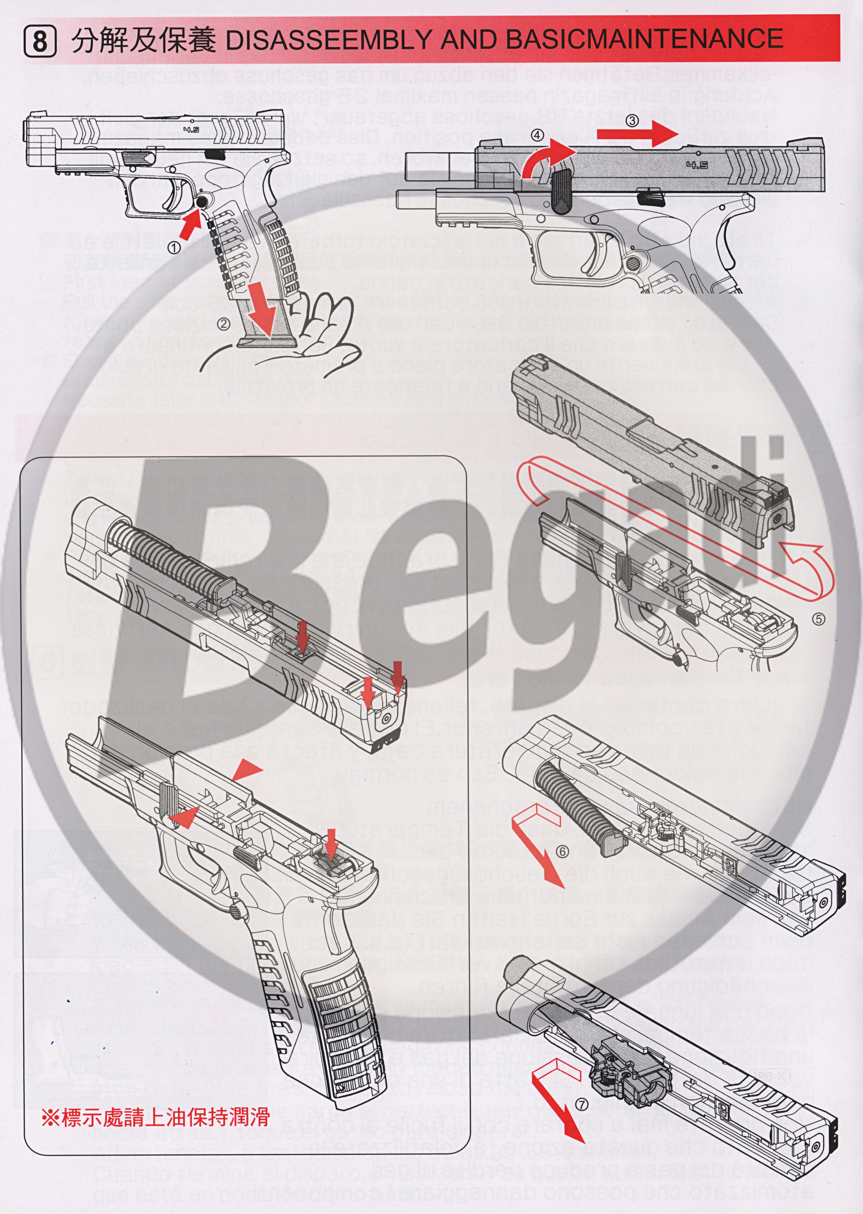 WE XDM Compact GBB -schwarz- (frei ab 18 J.) Xdm Schematic on